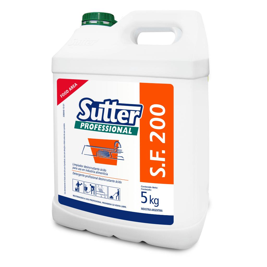 SF 200 Desincrustante Acido Superficies Duras x 5 kg