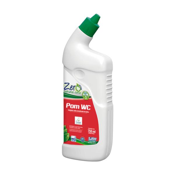 Pom Wc Quita Sarro Anticalcáreo Desodorante Zero 750 ml
