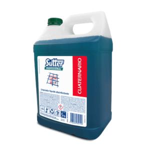 Cuaternario Limpiador Desinfectante Perfumado 5 kg