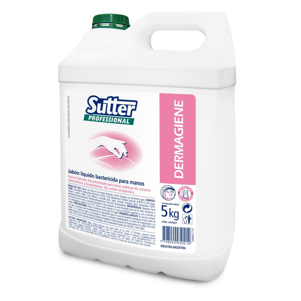 Dermagiene Jabón Lavamanos Bactericida x 5 kg