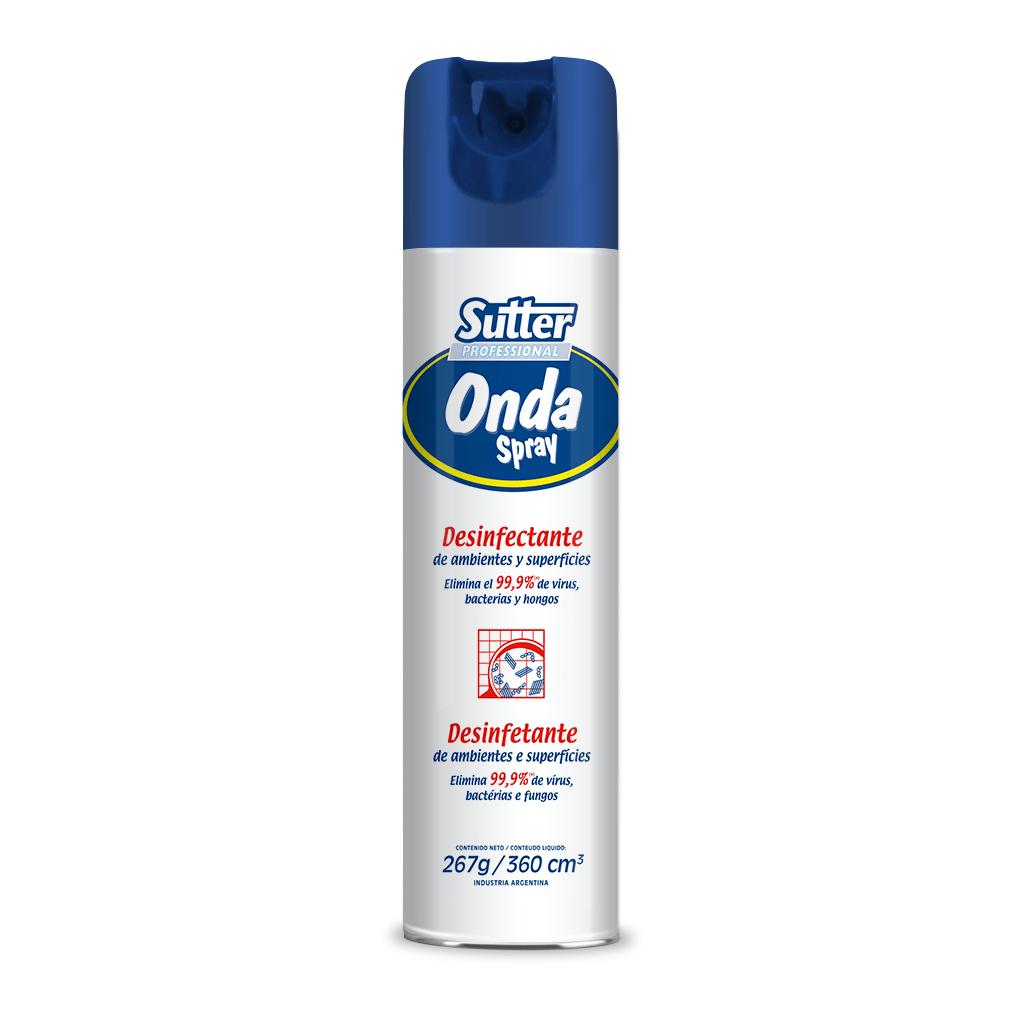 Onda Spray Desinfectante de Ambientes en Aerosol x 360 ml