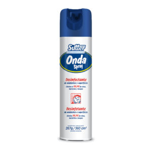 Onda Spray Desinfectante de Ambientes en Aerosol x 360 ml