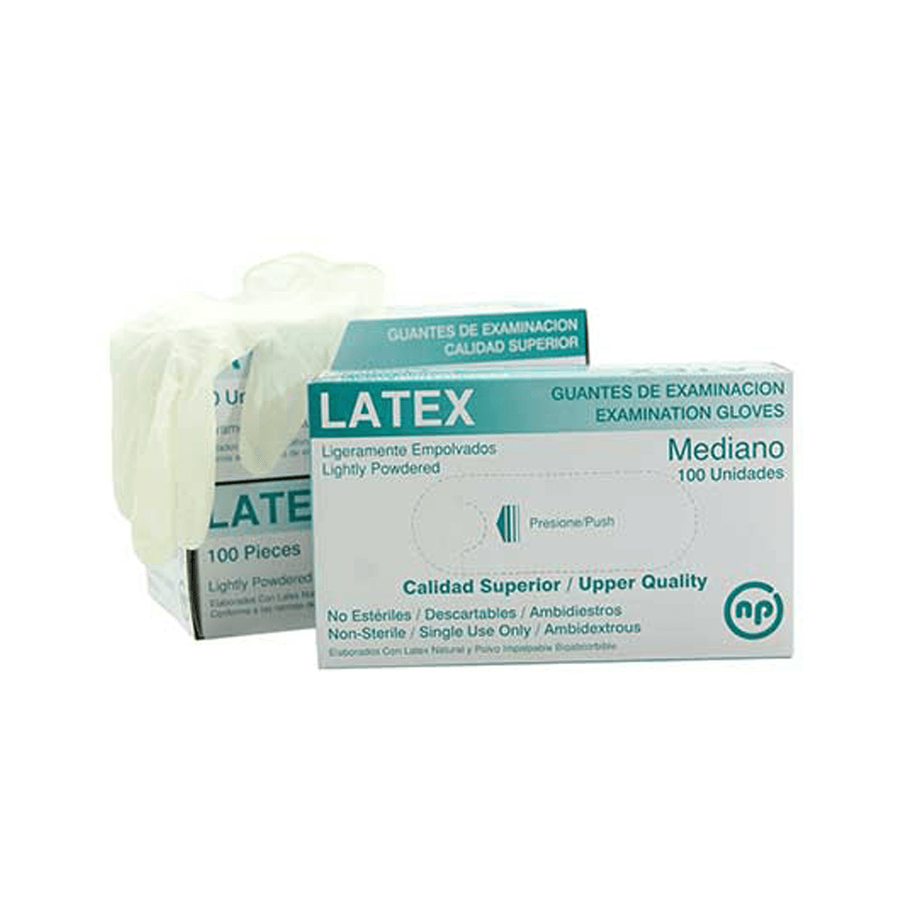Guante de Latex Mediano
