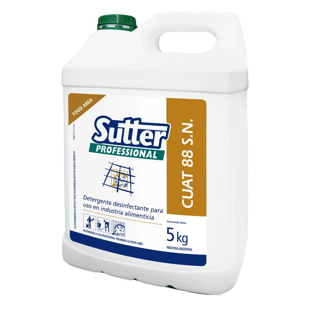 Cuat 88 S N Detergente Desinfectante x 5 kg