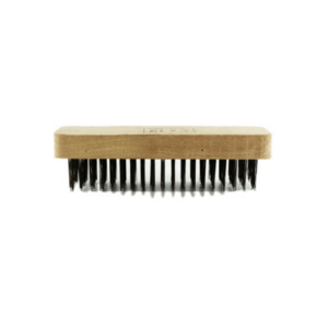 Cepillo alambre 6 x 19 cm Base de madera