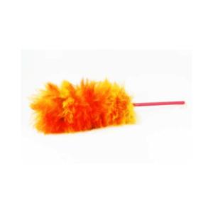 Plumero de lana multicolor